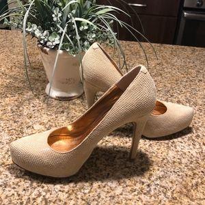 BCBGeneration Leather heels, 5 inch heels